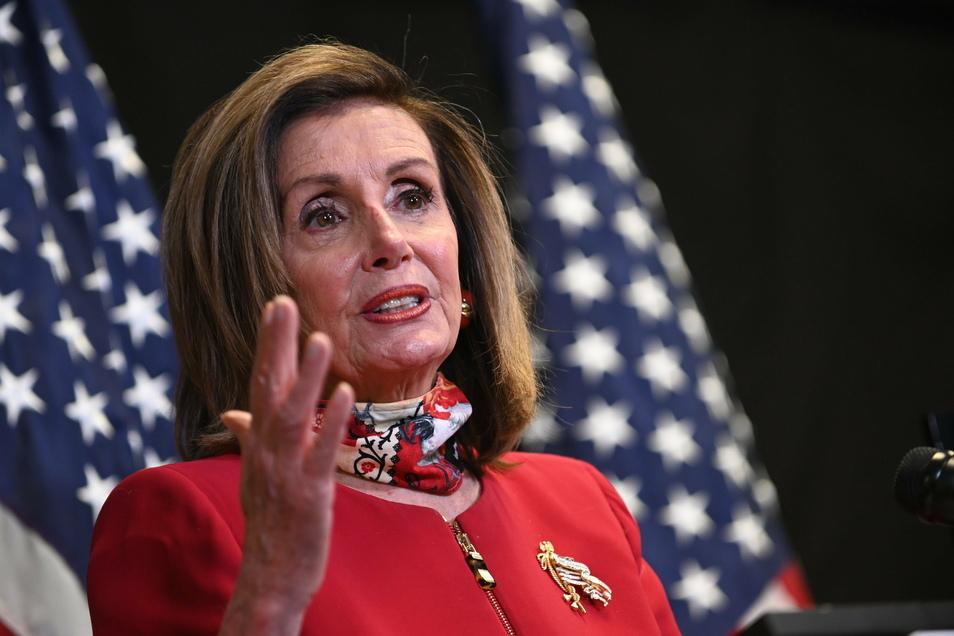 Nancy Pelosi, Sprecherin des US-Repräsentantenhauses.