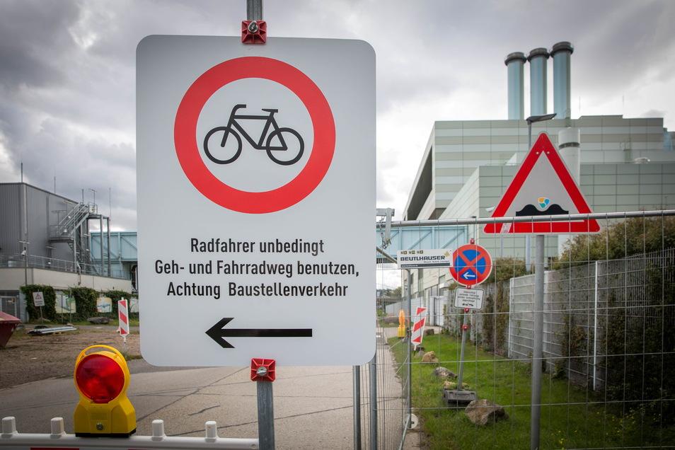 Die Fabrikstraße ist seit Herbst gesperrt. Das ärgert viele Radler.