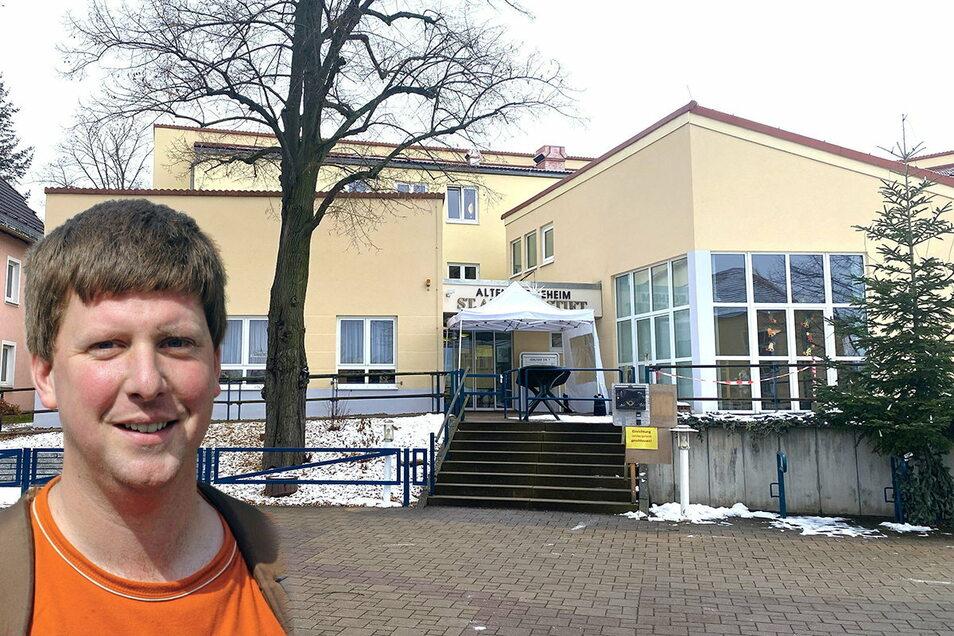 Caritas Pflegeheim Ostritz Foto: Matthias Weber/photoweber.de Honorarfrei für die Sächsischen Zeitung. Foto: Matthias Weber