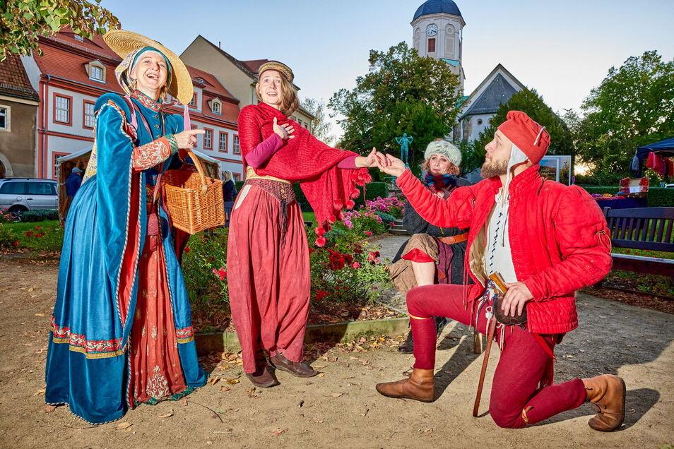 Formvollendete Ehrerbietung: Dohna huldigte am Wochenende dem Mittelalter. Wie wird in Zukunft gefeiert?