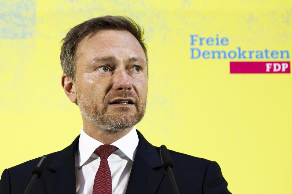 Christian Lindner, Parteivorsitzender der FDP und Fraktionsvorsitzender im Bundestag.