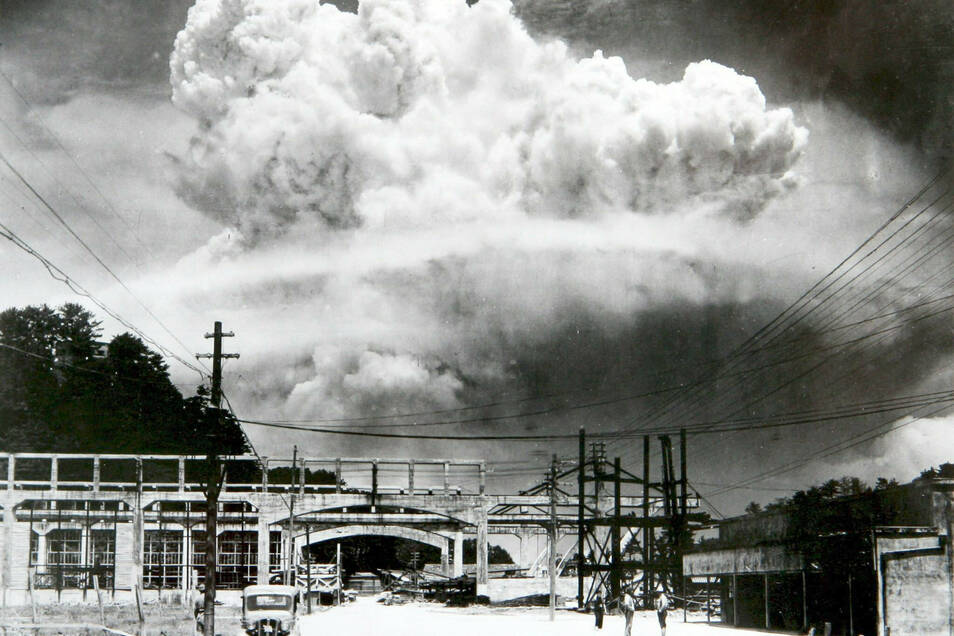 Vor 75 Jahren wurde die Atombombe zum ersten Mal als Waffe gegen Menschen eingesetzt.