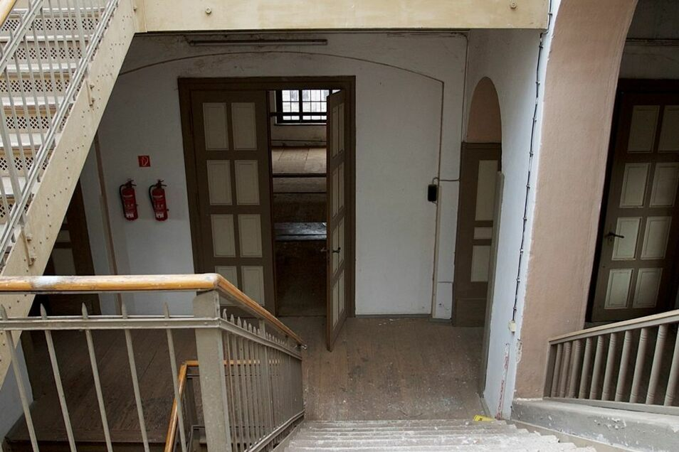 Das Treppenhaus zwischen den Gebäudeteilen soll weitgehend unverändert bleiben.
