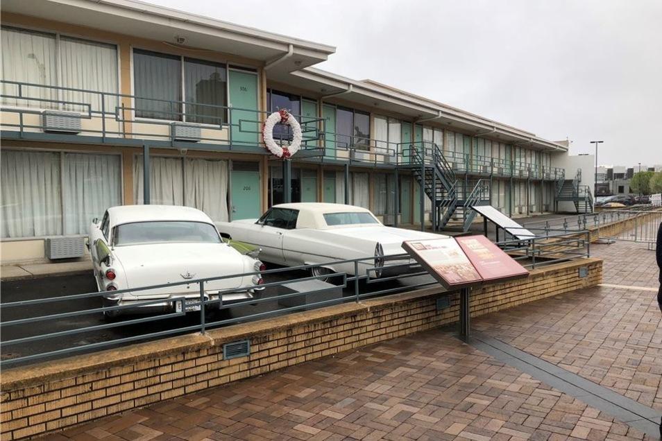 """Im Raum 306 des """"Lorraine Motel"""" in Memphis wurde King 1968 ermordet. Heute ist es Teil eines Museums."""