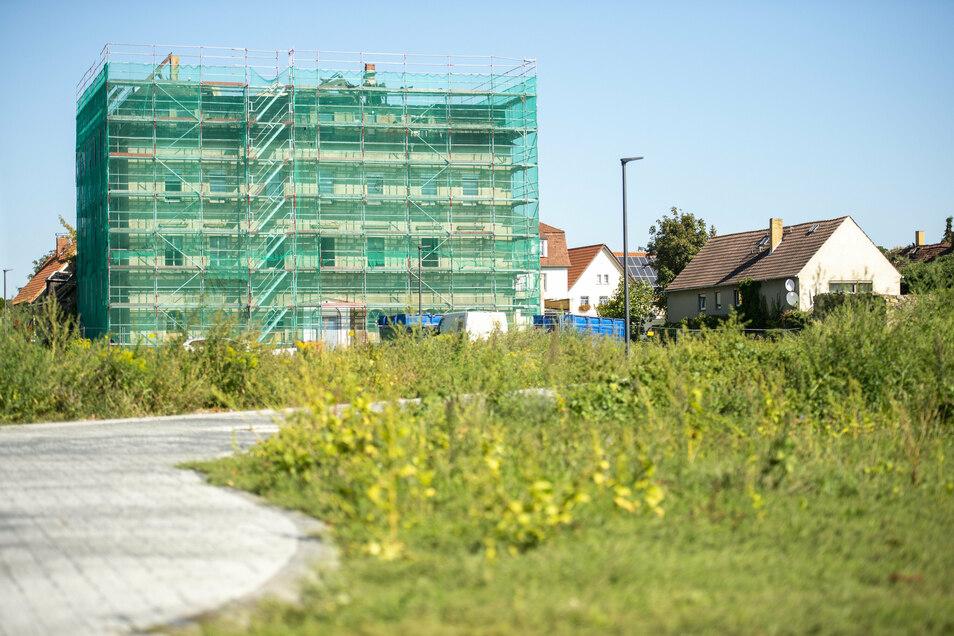 """Der Umbau der """"Villa Fuchsbau"""" hat begonnen. Zwischen 14 und 16 Monate wird er dauern."""