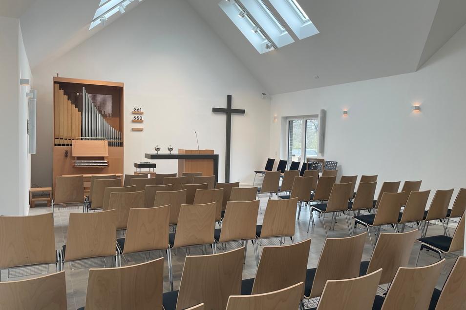 Ein Blick ins Innere der neuen Kirche.