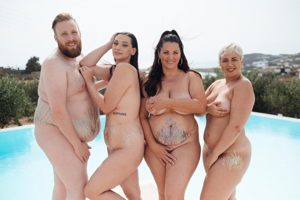 """No Body Is Perfect"" mit Daniel Schneider; Silvana Denker;Paula Lambert, Sandra Wurster."