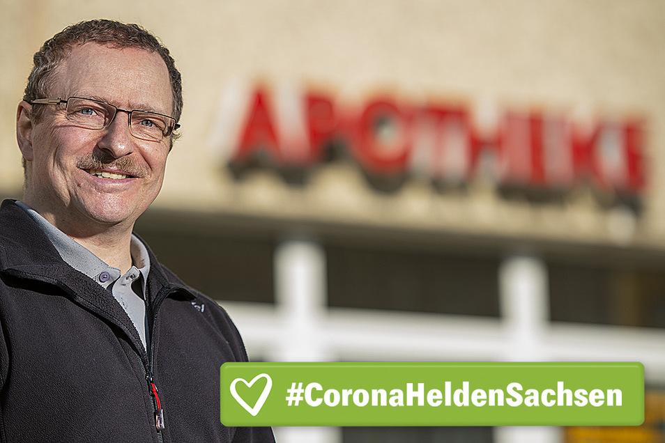 Klaus Haufe ist Inhaber der Lilienstein-Apotheke in Pirna-Sonnenstein.