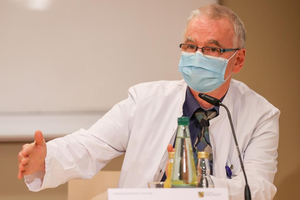 Thomas Grünewald, Infektiologe vom Klinikum Chemnitz.