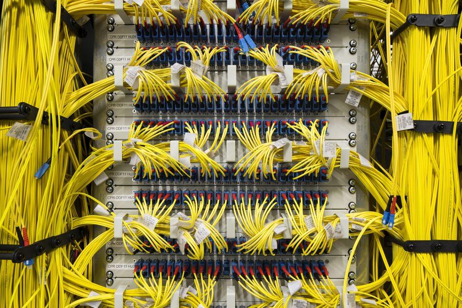 Über den Knoten des Betreibers DE-CIX in Frankfurt am Main läuft ein Großteil des deutschen Datenverkehrs.
