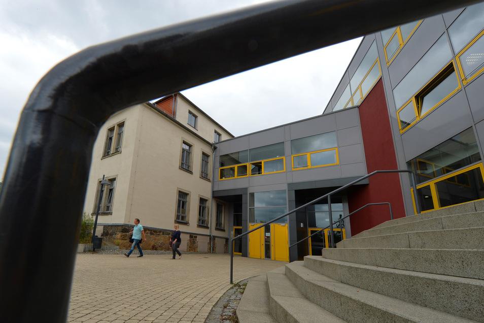 Die Kurfürst-Moritz-Oberschule.