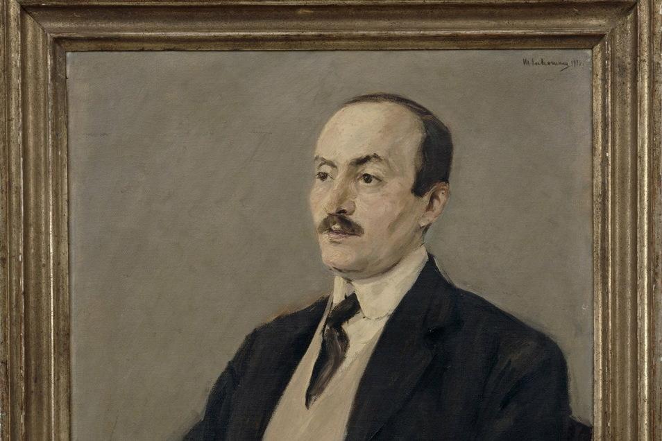 Curt Goldschmidt war mit dem Maler Max Liebermann befreundet. Der hat ihn gemalt. Das Bild hängt im Jüdischen Museum Berlin.
