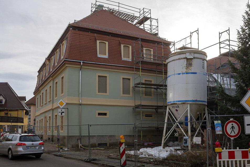 Über zwei Millionen Euro gibt die Stadt Dippoldiswalde dieses Jahr für den Museumsumbau aus. Das ist das größte Vorhaben im Haushaltsplan, den der Stadtrat jetzt beschlossen hat.