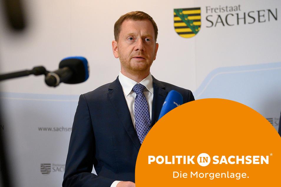 Sachsens Ministerpräsident Michael Kretschmer hat erneut zu Corona-Impfungen aufgerufen.
