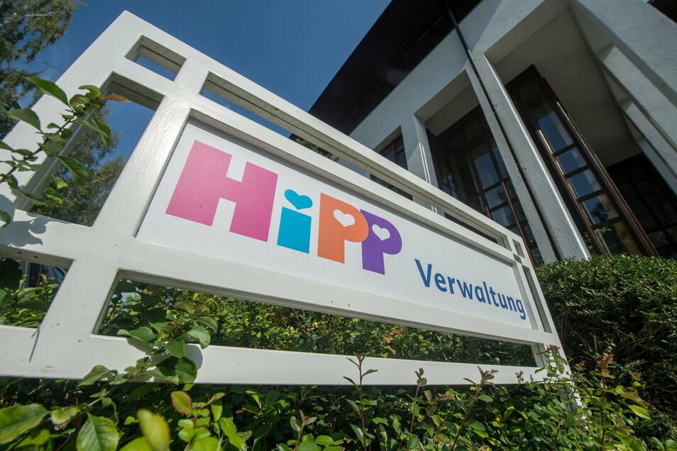 Die Firmenzentrale des Babynahrungherstellers Hipp in Pfaffenhofen An Der Ilm.