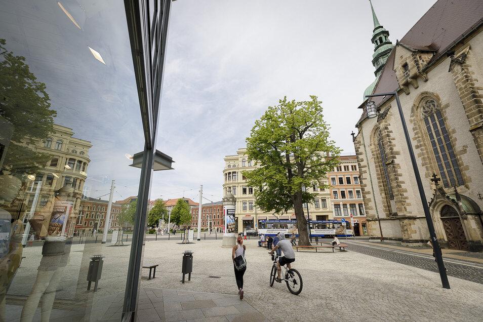 Dieser Platz zwischen City-Center und Frauenkirche erhält in Görlitz einen neuen Namen.