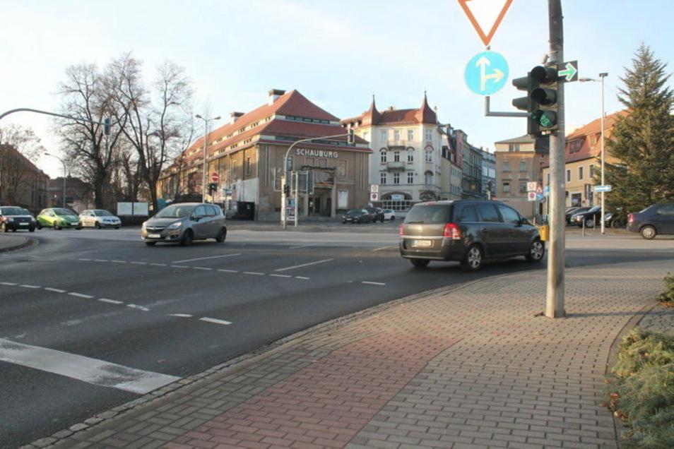 Die Kreuzung Ottokarplatz.