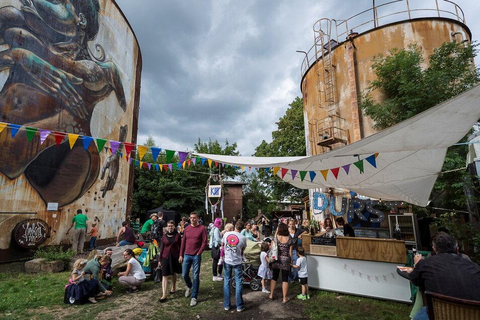Das Rabryka-Gelände in der Görlitzer Innenstadt-West ist ein Ort, an dem Jugendliche sich frei bewegen können. Einige wenige haben das ausgenutzt und mehrfach randaliert.