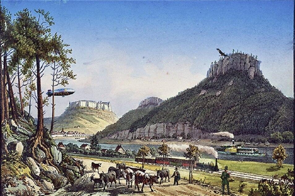 Finde die Fehler... - die Festung Königstein macht eine Reihe interessanter Online-Angebote für Kinder.