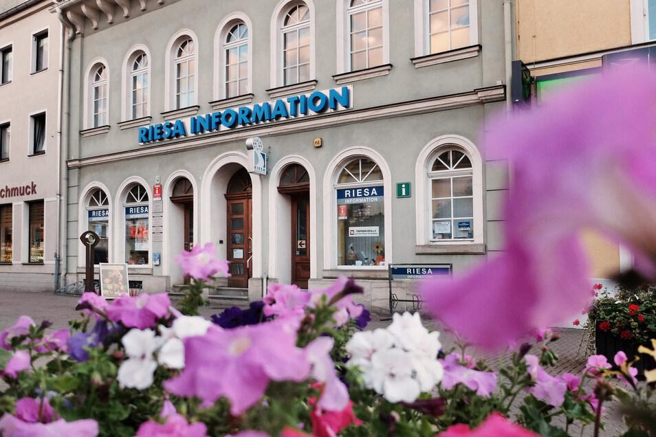 Die Riesa-Information auf der Hauptstraße wird am Donnerstag voraussichtlich zu bleiben.
