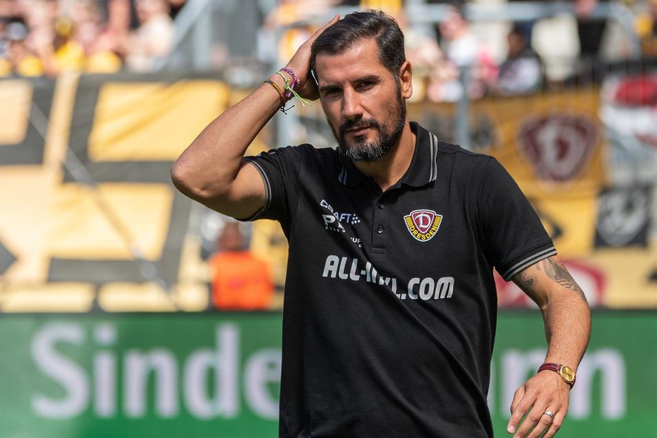 Lange hat Cristian Fiel über die Aufstellung nachgedacht - und sich dann bewusst für den Neuzugang anstelle von Moussa Koné entschieden.