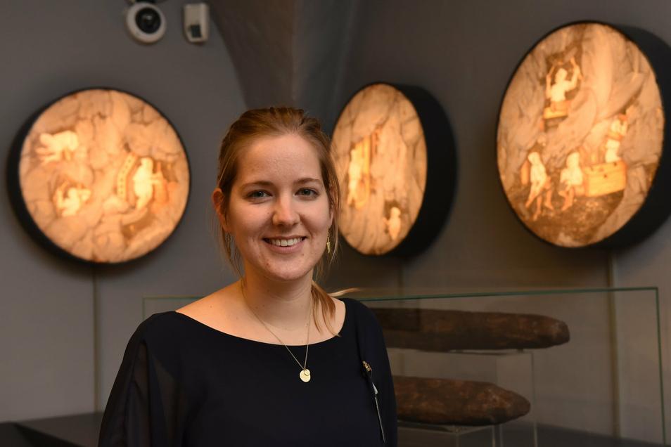 Linda Burghardt, die Leiterin des Miberz-Museums in Dippoldiswalde, geht nach Baden-Württemberg zurück.