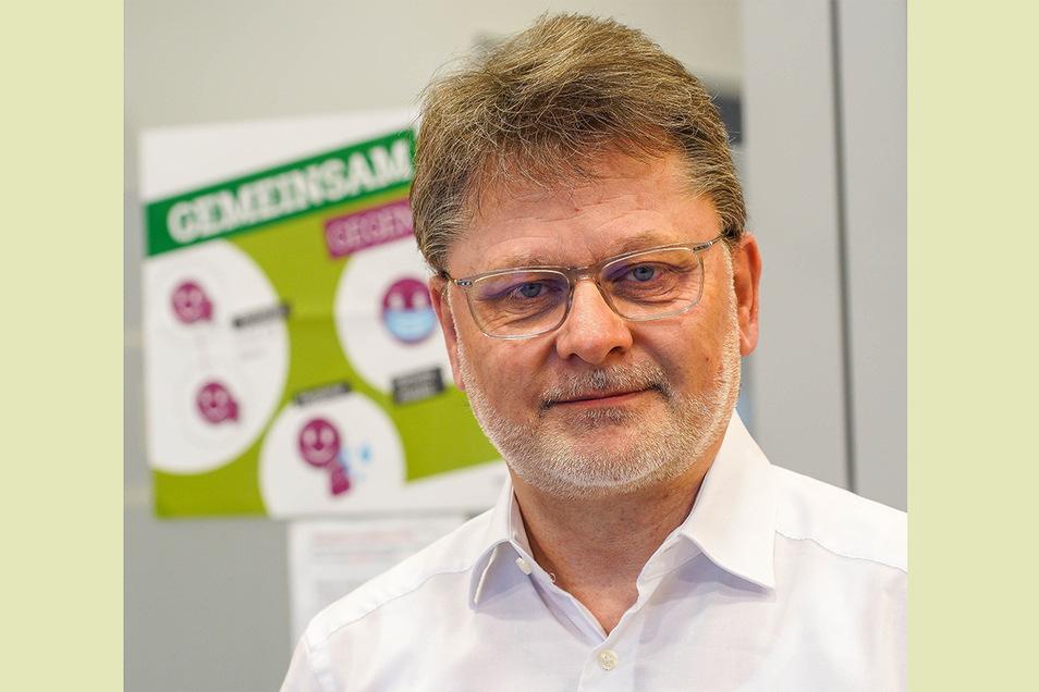 Doktor Thomas Stehr ist einer von zwei leitenden Ärzten im Bautzener Nierenzentrum.