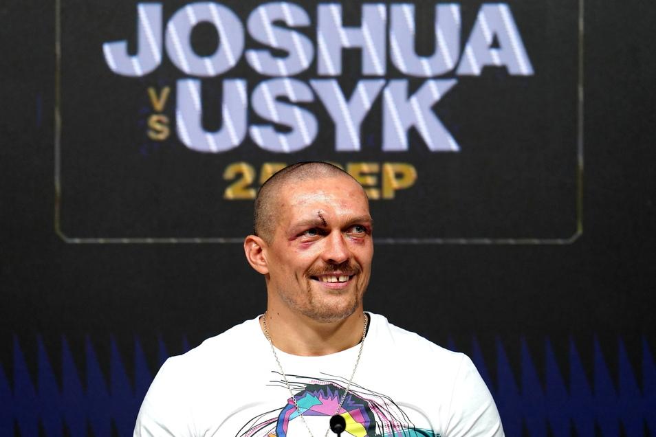Herausforderer Alexander Usyk hat Anthony Joshua entthront und ist neuer Vierfach-Weltmeister im Schwergewicht.