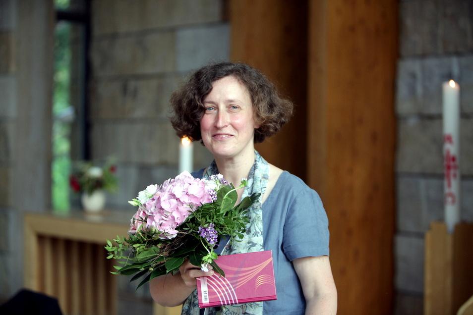 Brigitte Lammert im Diakonie- und Kirchgemeindezentrum Pirna-Copitz: Ich lege großen Wert auf Ehrlichkeit und Vertrauen.