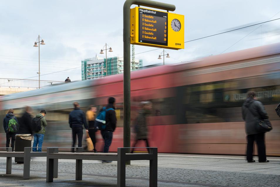 In Dresden fährt man vergleichsweise günstig mit den öffentlichen Verkehrsmitteln.