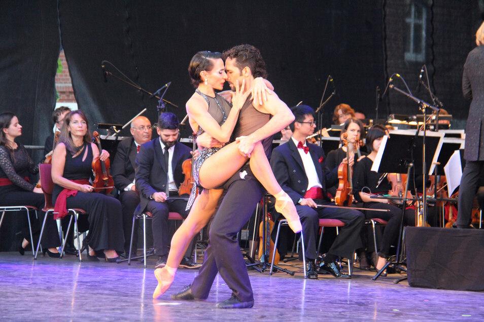 Der Tango stand am Wochenende im Mittelpunkt des Musikfestes in Schmochtitz.