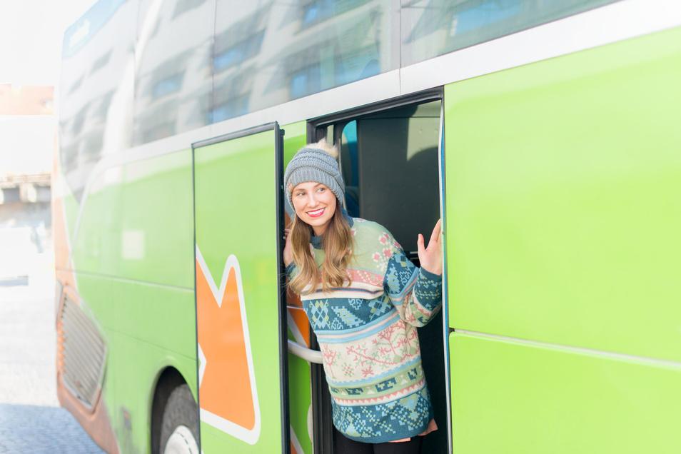Marktführer Flixbus ist ein günstiges Reisemittel, wenn es auch manchmal lange dauern kann.