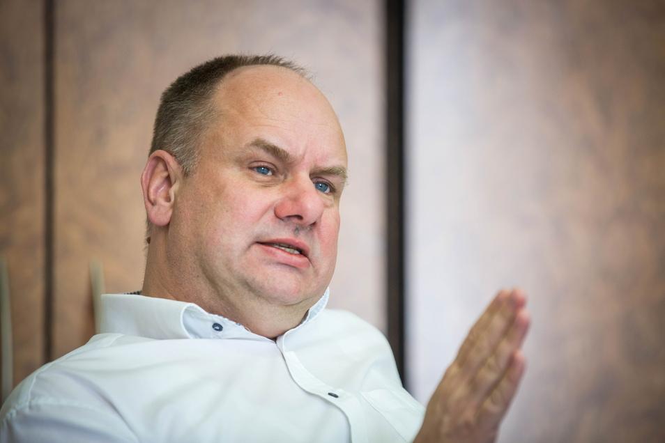 Dirk Hilbert (FDP) ist seit 2015 Oberbürgermeister der Stadt Dresden.