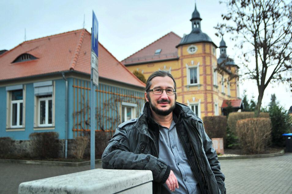 Dirk Mocker ist Thiendorfs Bürgermeister.