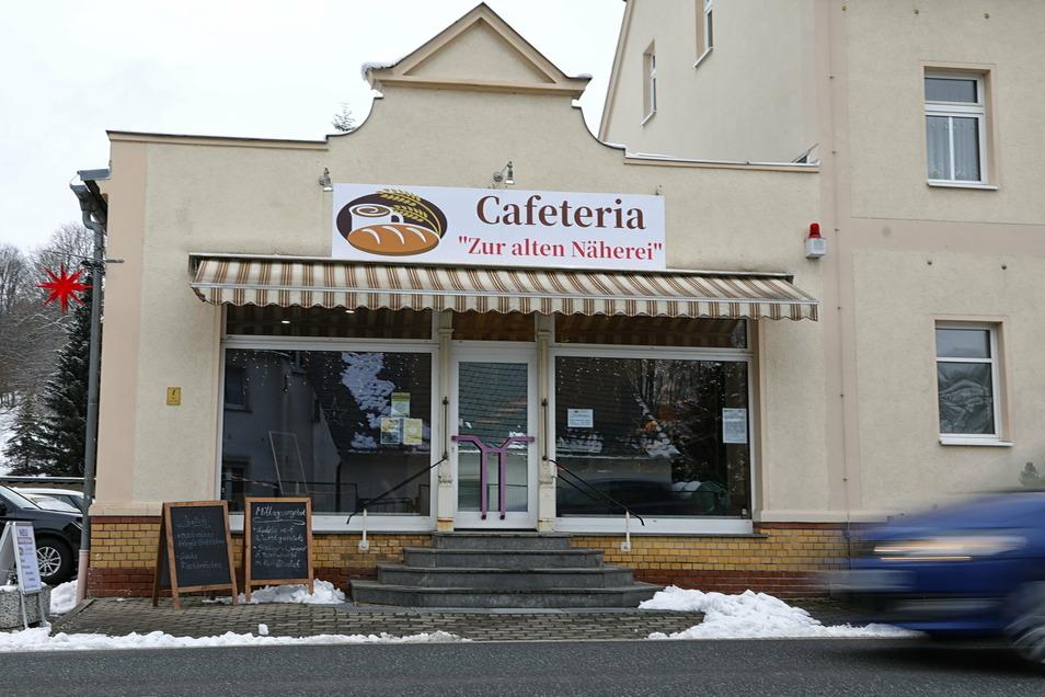 Die neu eröffnete Cafeteria an der B96 in Neusalza-Spremberg.