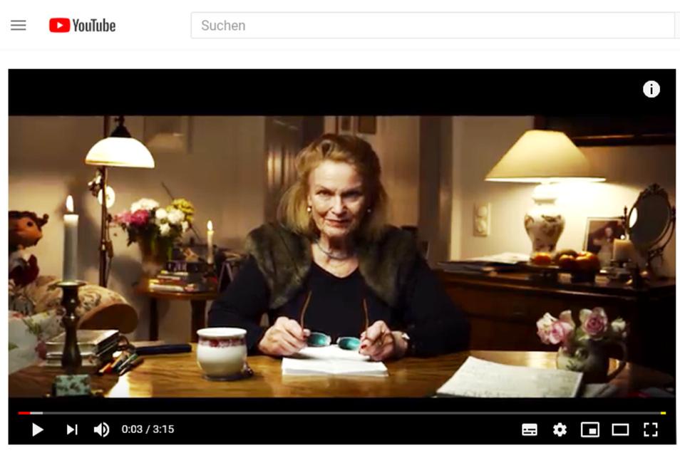 Was Schauspielerin Monika Hildebrand über Dresden zu sagen hat.