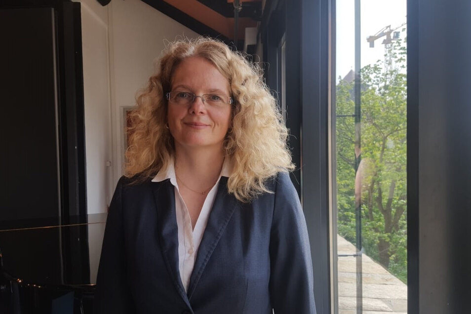 Katja Schimke leitet das Bautzener Finanzamt.