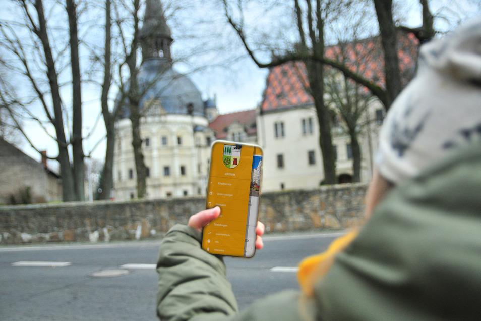 Echtzeit-Kommunikation per Gemeinde-App: In den Landkommunen Schönfeld und Lampertswalde wird darüber nachgedacht.