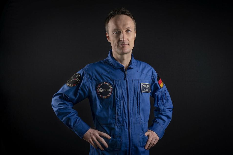 Der deutsche Astronaut Matthias Maurer fliegt nächstes Jahr zur ISS.
