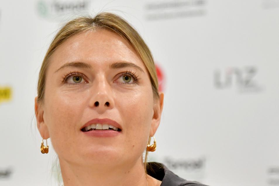 """Nach 28 Jahren im Tennis ist Maria Scharapowa nun bereit, """"neue Gipfel zu besteigen, mich auf einem anderen Terrain als Wettbewerberin zu beweisen""""."""
