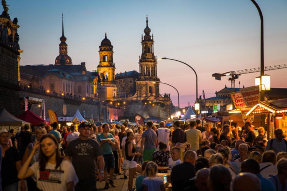 Zehntausende werden beim Dresdner Stadtfest unterwegs sein.