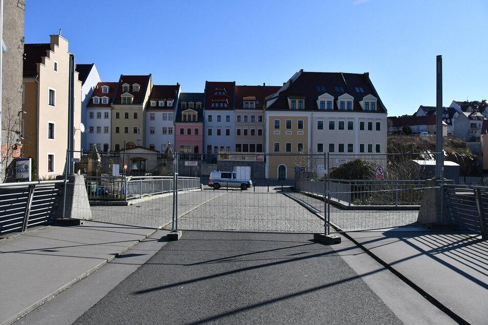 Zu: Grenzübergang an der Altstadtbrücke in Görlitz.