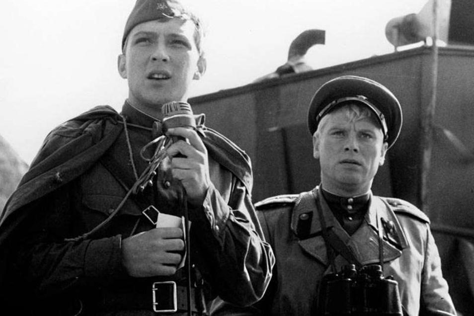 """In Konrad Wolfs autobiografischem Kriegsfilm """"Ich war 19"""" spielt Jaecki Schwarz einen jungen Deutschen, der in den Reihen der Roten Armee gegen seine ehemaligen Kameraden kämpft."""
