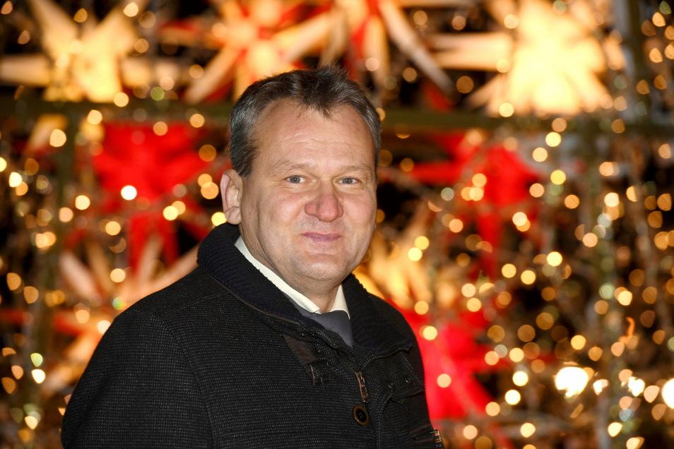 Oskar Scholz, Geschäftsführer der Herrnhuter Sterne GmbH.