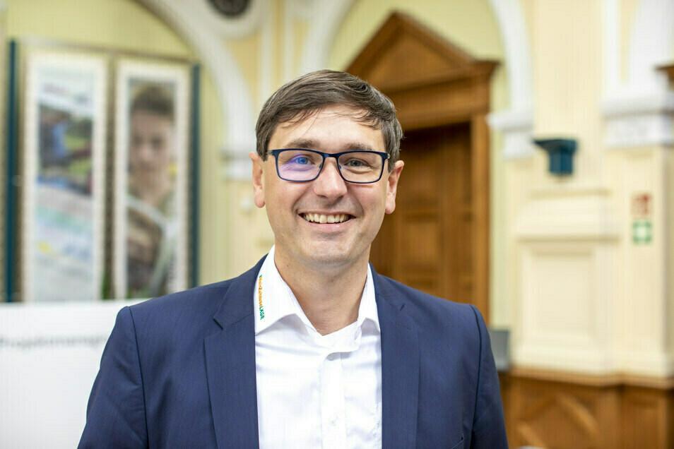 Sven Mimus, Geschäftsführer vom Museumsverbund