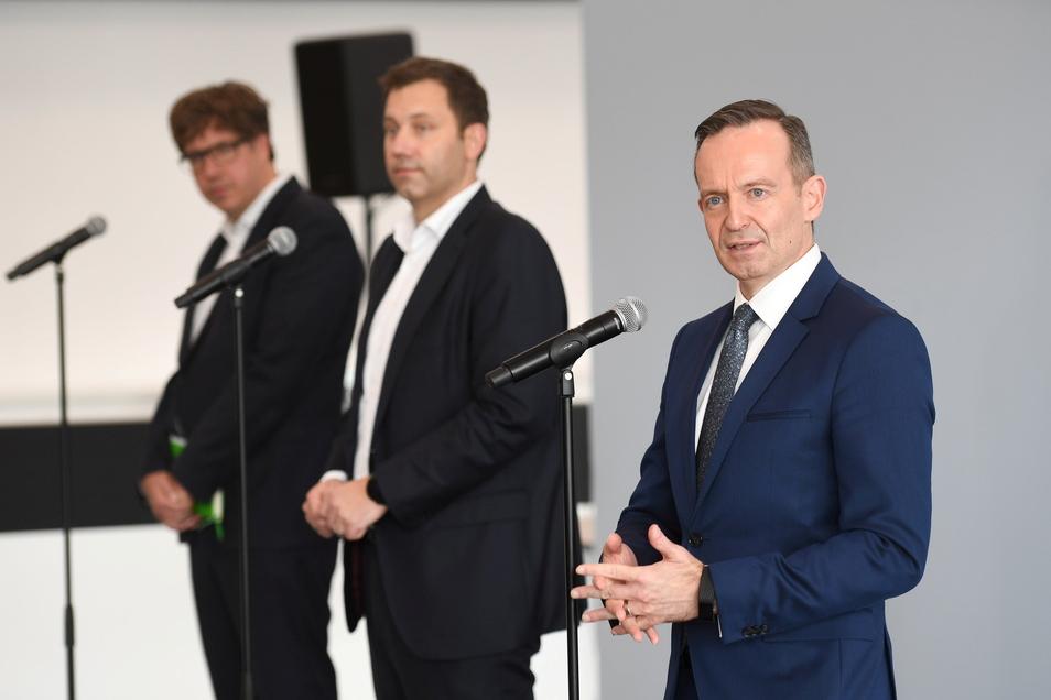 Die Generalsekretäre von SPD, Grünen und FDP haben sich zum angestrebten Zeitplan der Koalitionsverhandlungen geäußert.