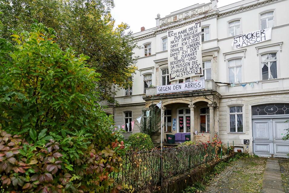 Diese Villa steht Kaufhaus-Besitzer Winfried Stöcker für ein größeres Parkhaus für sein Kaufhaus im Wege.
