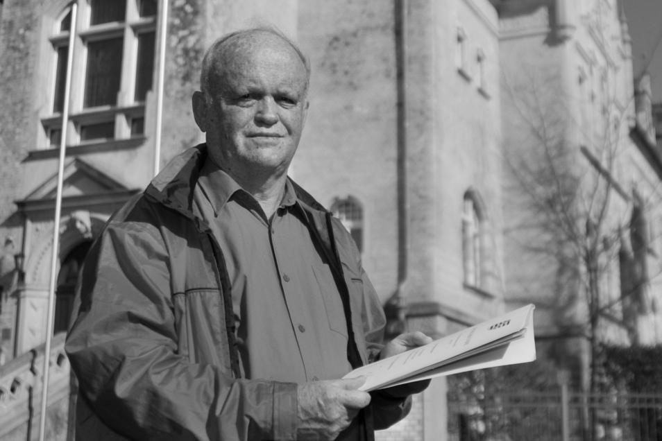 Manfred Nestler war mehr als 30 Jahre Friedensrichter in Großweitzschen. Am Sonnabend ist er verstorben.