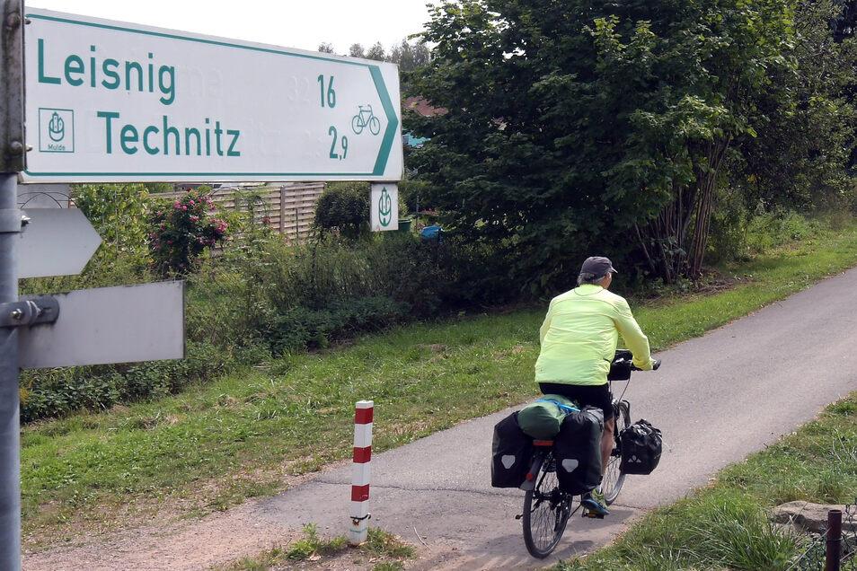 Symbolbild: Mulde-Radweg in Großbauchlitz
