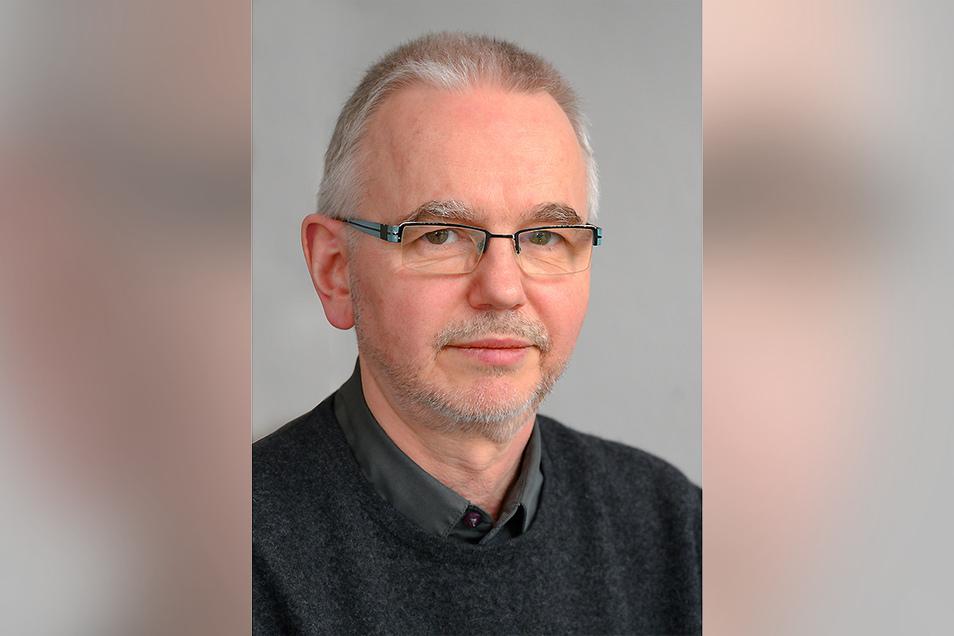 Dr. Thomas Grünewald, Leiter der Klinik für Infektionsmedizin am Klinikum Chemnitz.